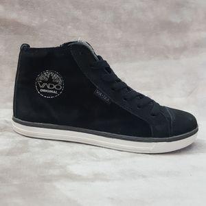 VADO Kids Girls Leather Shoes Narrow Black Sz 13